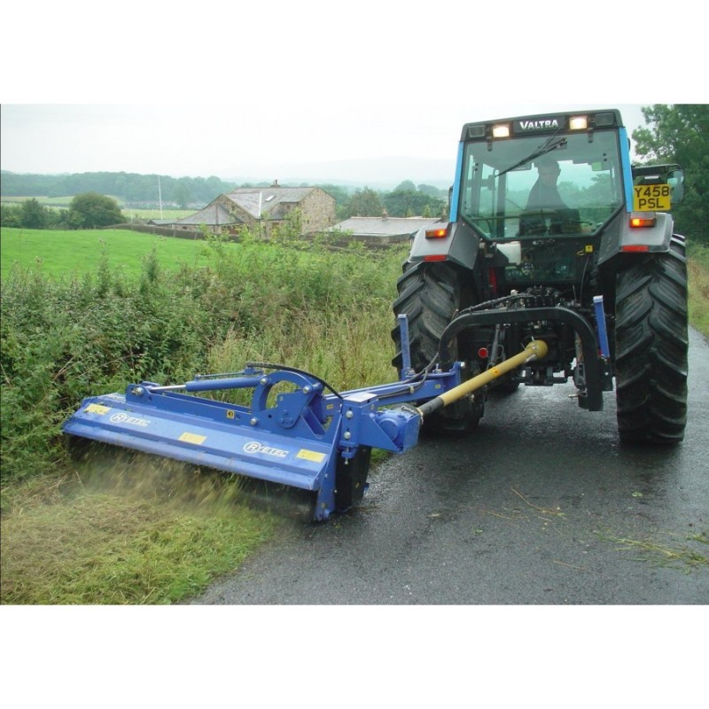 Offset Finish Mower : Mucs heavy duty multi use in fully offset flail mower