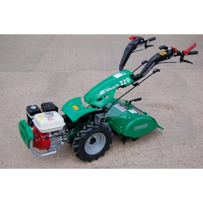 To Two Wheel Tractor Rototiller : Ferrari two wheel tractor the mowers toppers company