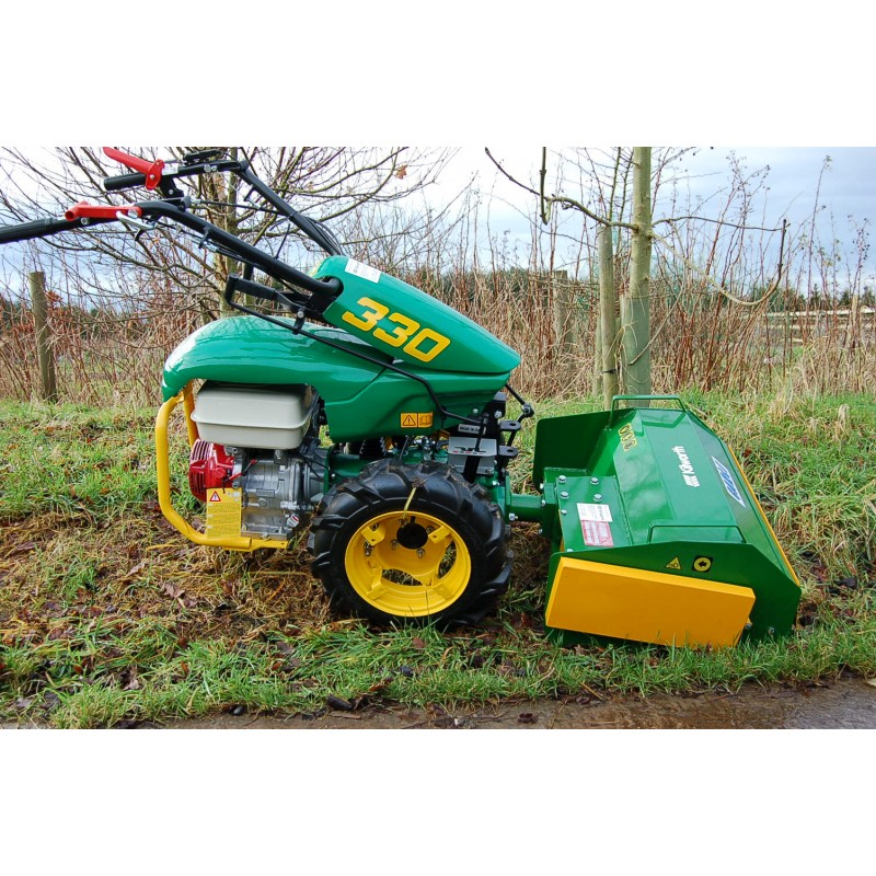 To Two Wheel Tractor Rototiller : Ferrari two wheel tractor with honda hp petrol