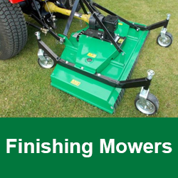 Finishing mowers